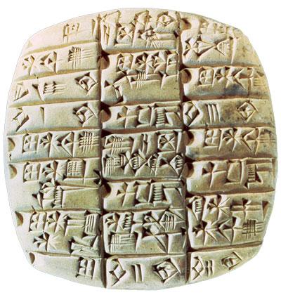 Ancient Mesopotamian Cuneiform 062611» Vector Clip Art - Free Clip Art Images