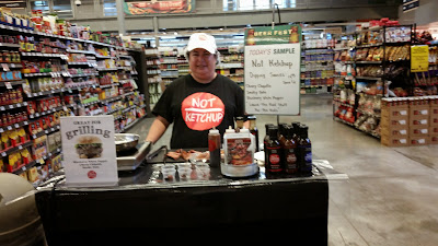 Not Ketchup demo at Central Market in Texas