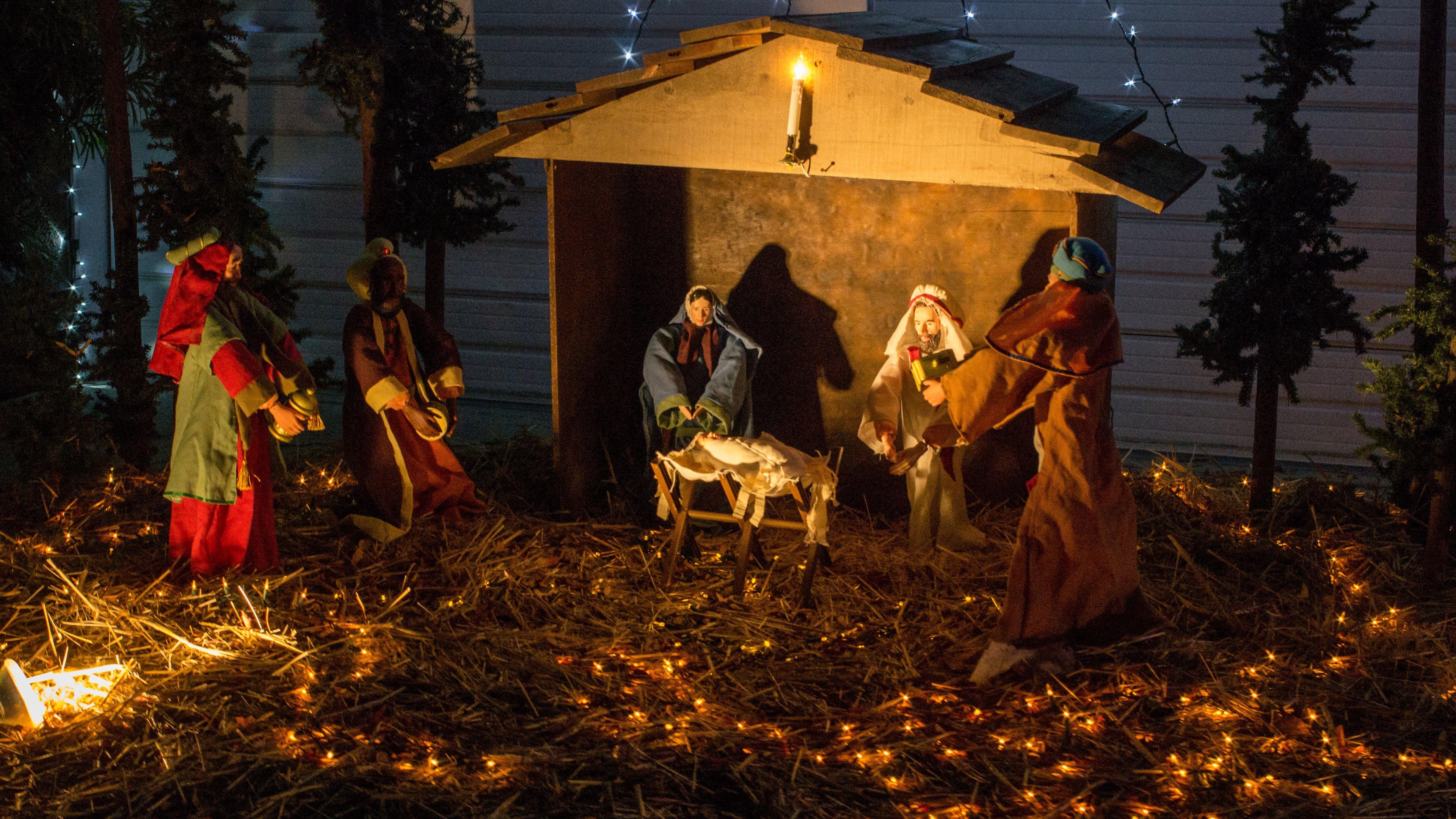 nativity scene wallpaper hd wallpapers