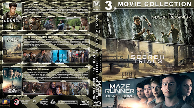 The Maze Runner Triple Feature DVD Cover