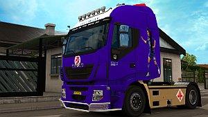 FC Fiorentina skin for Iveco Hi-Way