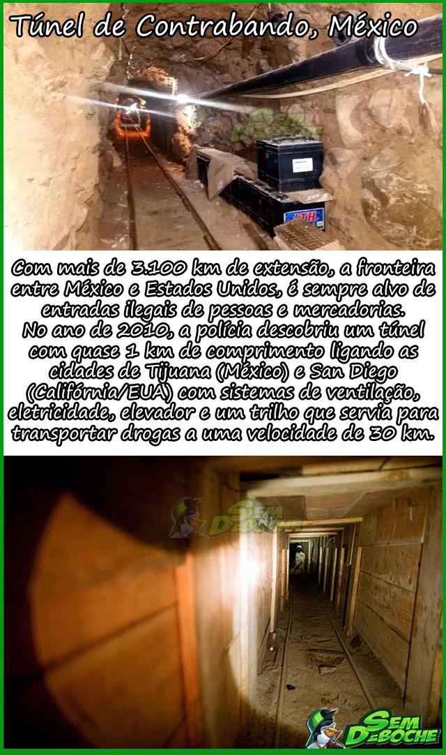 Túnel de Contrabando, México