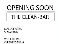 Lowongan Cleaning Team di The Clean Bar - Semarang