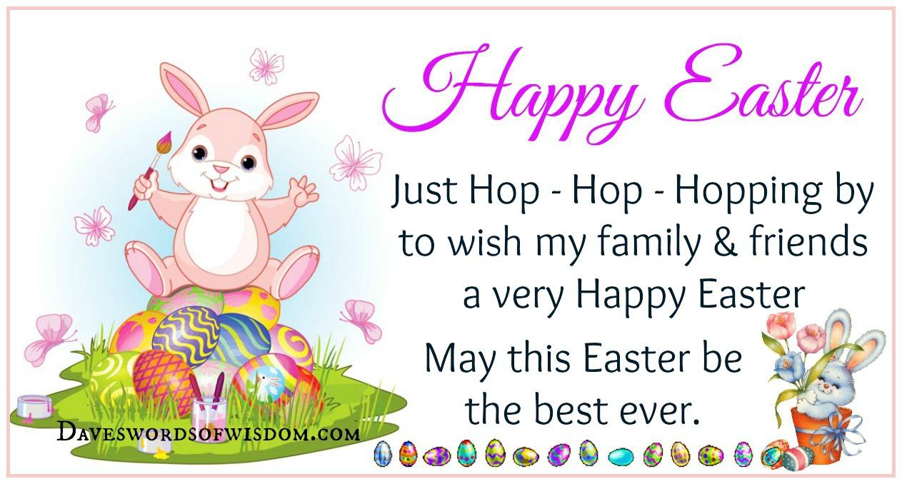 Daveswordsofwisdomcom Happy Easter To You