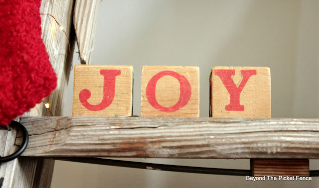 joy blocks from the thrift store