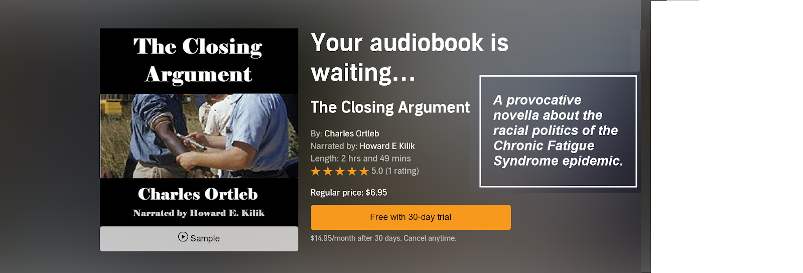 Closing Argument Audible