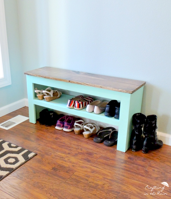 Free plans for shoe bench