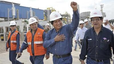 En medio de un escándalo de corrupción, Evo Morales anuló un contrato
