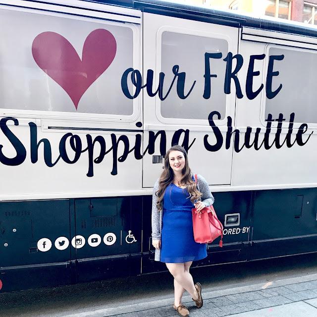 Vaughan Mills Shopping Shuttle info