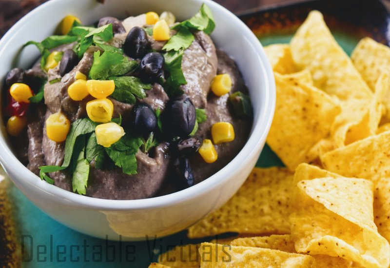 Black Bean Hummus Dip