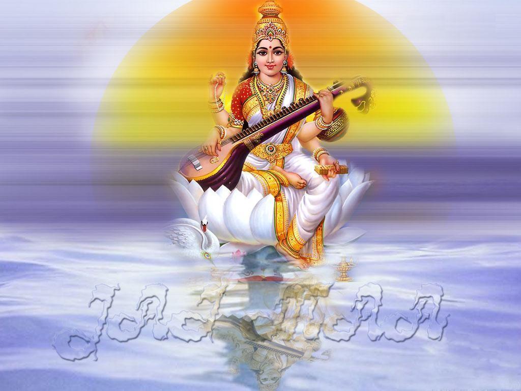 saraswati hd wallpaper | Desktop HD Wallpapers