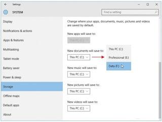 Cara Mengubah Lokasi Penyimpanan Default Personal File di Windows 10