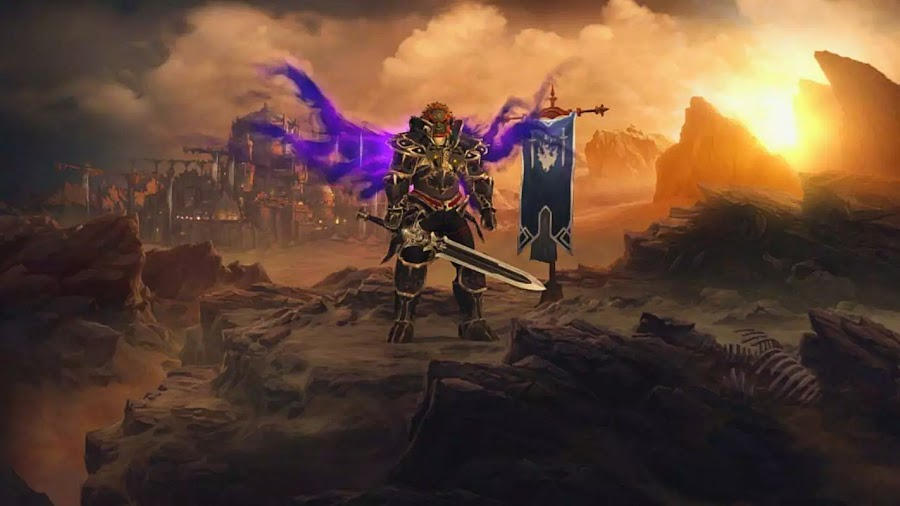 diablo 3 nintendo switch barbarian ganondorf