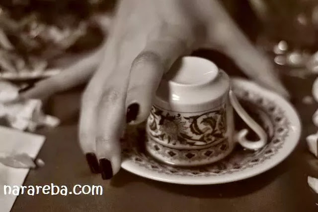Coffee Tasseography - Seni Meramal Melalui Gelas Kopi