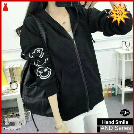 AND404 Jaket Wanita Hand Smile Jacket BMGShop