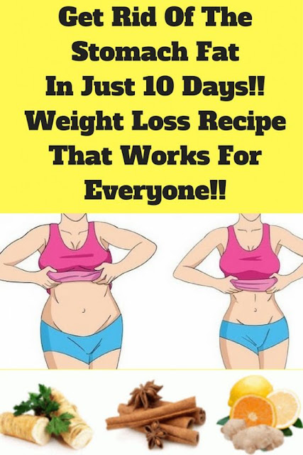 Get Rid Of Stomach Fat In Just 10 Days!!