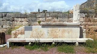 το Βήμα της Αγοράς  στην Αρχαία Μεσσήνη