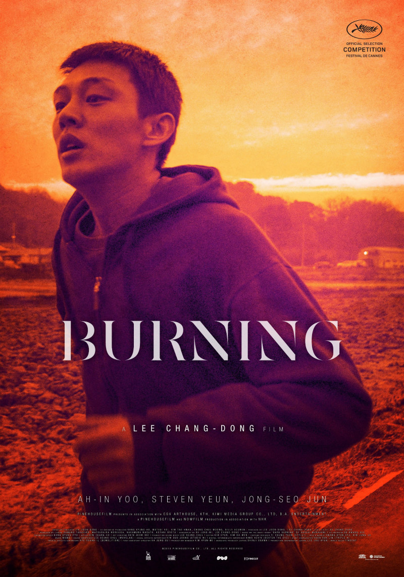 burning film poster