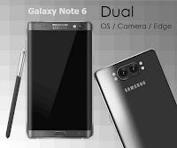 Samsung Galaxy Note 6 Dual Camera