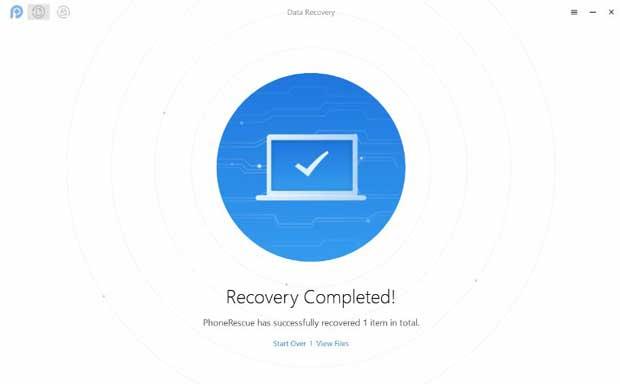 mengembalikan file data ponsel yang hilang terhapus dengan phonerescue