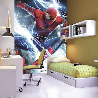 Spiderman Wall Mural