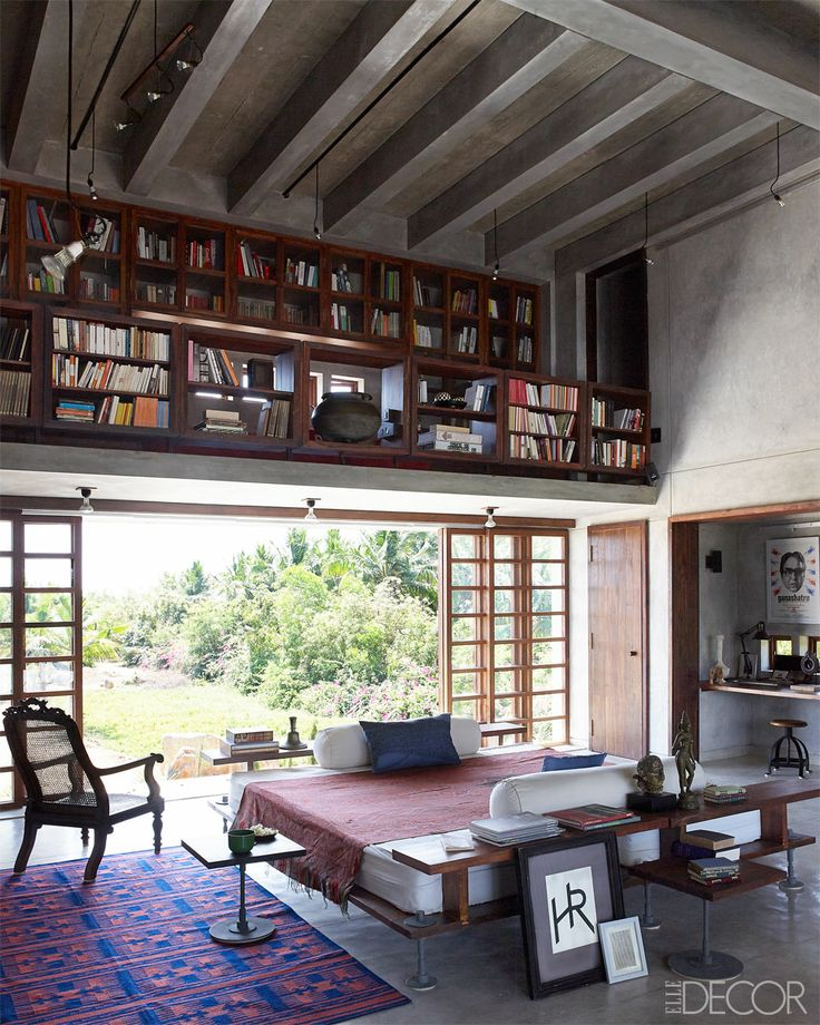 A few months ago there was a house tour in Elle Decor where they showed a contemporary retreat in the ... & Lunch \u0026 Latte: space: a contemporary library in India