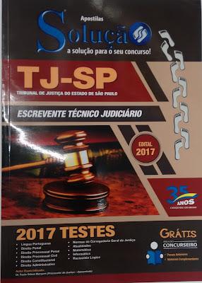 Apostila de Testes de Escrevente Técnico Judiciário na Banca do Vanildo   Valor R$: 30,00 divide no cartão de crédito em 03 vezes