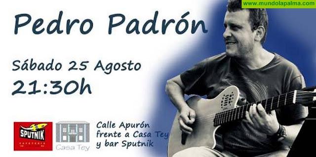 Concierto de Pedro Padrón en Santa Cruz de La Palma