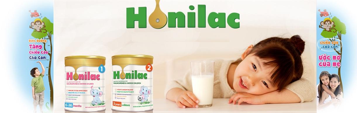 Kết quả hình ảnh cho Honilac – Giải pháp vàng khi trẻ biếng ăn và suy dinh dưỡng