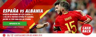 circus promocion 20 euros España vs Albania 6 octubre