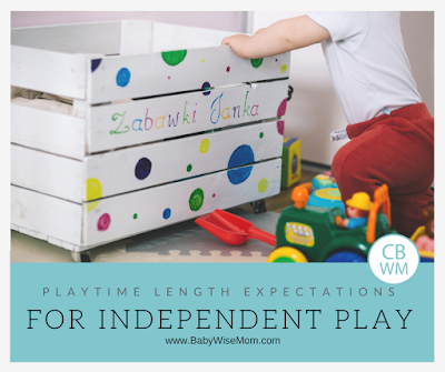 Independent Playtime Lengths: The amount of time you can expect your child to play alone each day