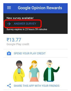 Google opinion reward kya hai