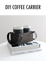 DIY Coffee Carrier