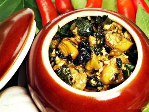 Cách làm món ốc nấu chuối đậu, thơm ngon nóng hổi