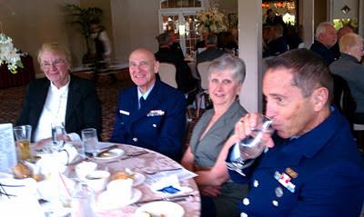 Members Cherie Stires, Bob Kady, Alice Schroth, and Jim Picciano