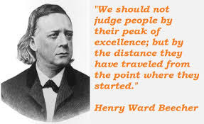 Motivational quote of the day by Henry Ward Beecher