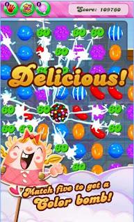 تحميل لعبة Candy Crush Saga للاندرويد مجانا