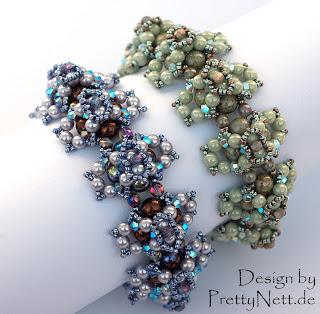 Pyrops bracelet - design by PrettyNett.de