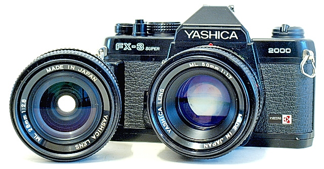 Yashica FX-3 Super 2000, Lenses