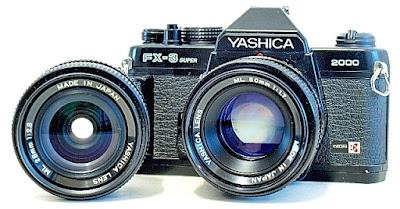 Yashica FX-3 Super 2000, Lenses