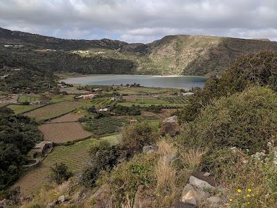 View of Lago Specchio di Venere.
