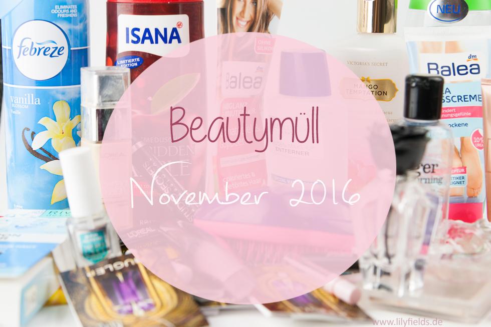 Goodbye November - Beautymüll (aufgebraucht)