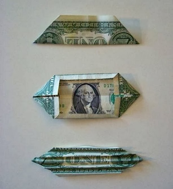 DIY Money Butterfly Origami - The Idea King - photo#18