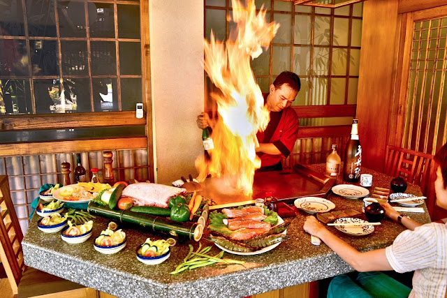okoh, japanese restaurant di bandung