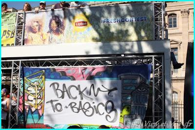 Char back to basics techno parade 2016