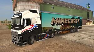 Minecraft trailer mod
