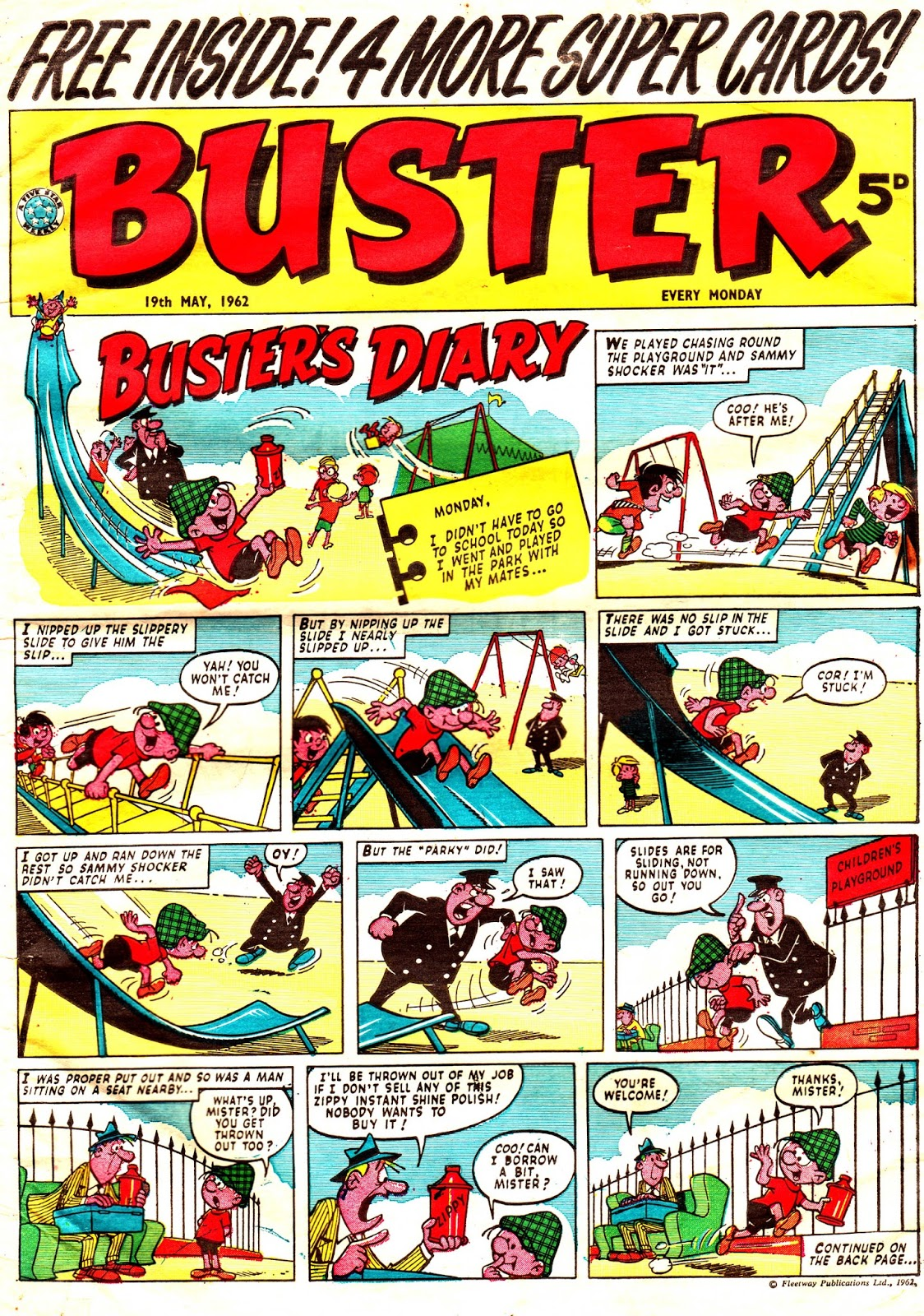 Buster's Diary Buster nº 104 Nadal
