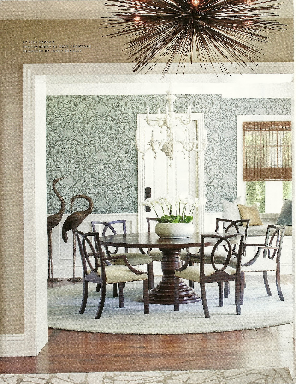 Maison Newton The Look For Less Dining Room From