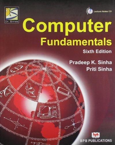 Computer fundamentals (hindi) by p. K. Sinha – bpb publications.