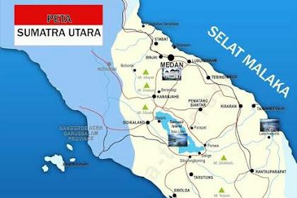 Inilah 6 Kabupaten Terbesar dan Terpadat di Provinsi Sumatera Utara Indonesia
